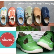 Modern Children's Shoes by Eleven Collection