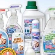 BabyGanics Cleaning Kit Giveaway!