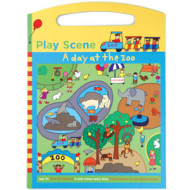 A Day at the Zoo Sticker Set Play Scene by MudPuppy