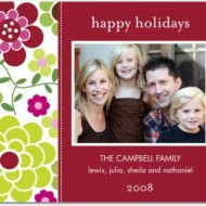New 2008 Holiday Cards from Tiny Prints (And Win a $50 GC Too!)