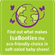 IsaBooties Eco-Friendly Baby Shoes Giveaway!