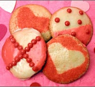 Easy-to-make Valentine Cookies