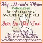 Breastfeeding Awareness Month 2009