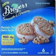 A New Reason To Love Ice Cream: Breyers Smooth & Dreamy Ice Cream Bars & Sandwiches- Review