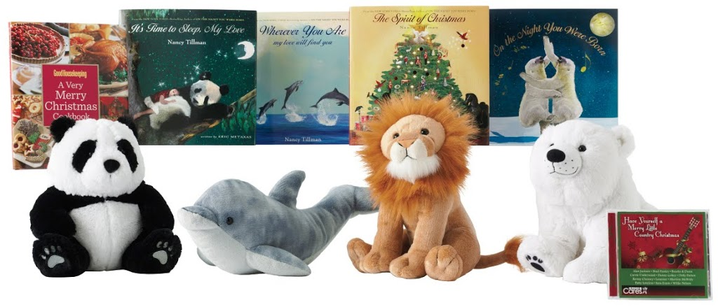 930566b1e Kohl s Cares Christmas Books and Plush Toys by Nancy Tillman Now ...