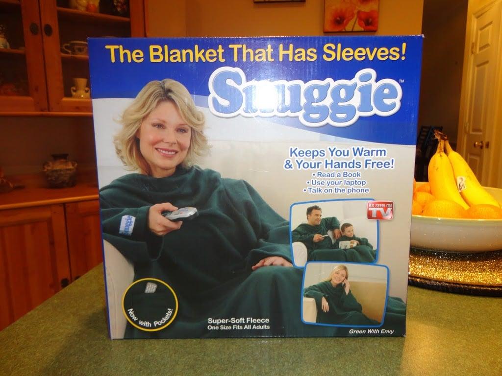 Snuggie Blanket with Sleeves 2ca3c3ed4