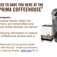 *HOT FREEBIE* Barista Prima K-Cup Sample Pack