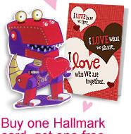 BOGO Hallmark Greeting Cards (Up To a $2.50 Value!)