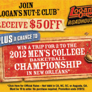 Logan's Roadhouse: $5 Off $20 Purchase Coupon