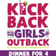 Outback Steakhouse: Free Dinner For Four (250 Winners!)