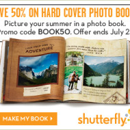 Shutterfly: Custom 8×8 Hardcover Photo Books Starting at Only $14.99 + 50 FREE Prints!