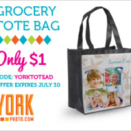 LAST DAY, Hurry! York Photo: 40 FREE Prints + $1 Personalized Tote Bag