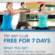 FREE 7 Day Pass to 24 Hour Fitness!