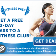 Scott Shared Values: FREE 10 Day Pass At Anytime Fitness Club