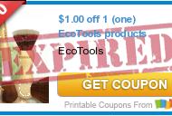 New EcoTools Coupon = Makes FREE EcoPouf Bath Sponge at Walmart or Cheap at Target!