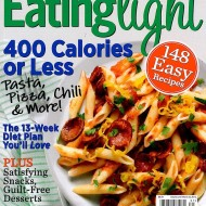 EATING LIGHT: 400 CALORIES OR LESS Magazine Now in Newsstands + 3 Readers Each Win A Copy!