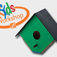 Home Depot: FREE Bird House Kids Workshop (January 5th)