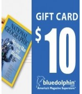 Free $10 Blue Dolphin Gift Card = Free Magazine Subscription to Parents, Marie Claire, Reader's Digest and More!