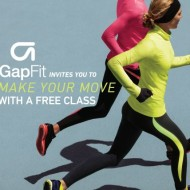 GapFit Studio: Try a FREE Class and Keep A Pair Of FREE GapFit Pants!