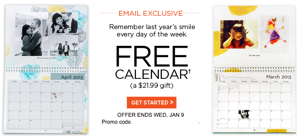 Shutterfly Free Photo Wall Calendar Just Pay 5 99 Shipping