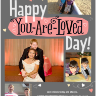 Happy Valentine's Day from our family to yours! :)