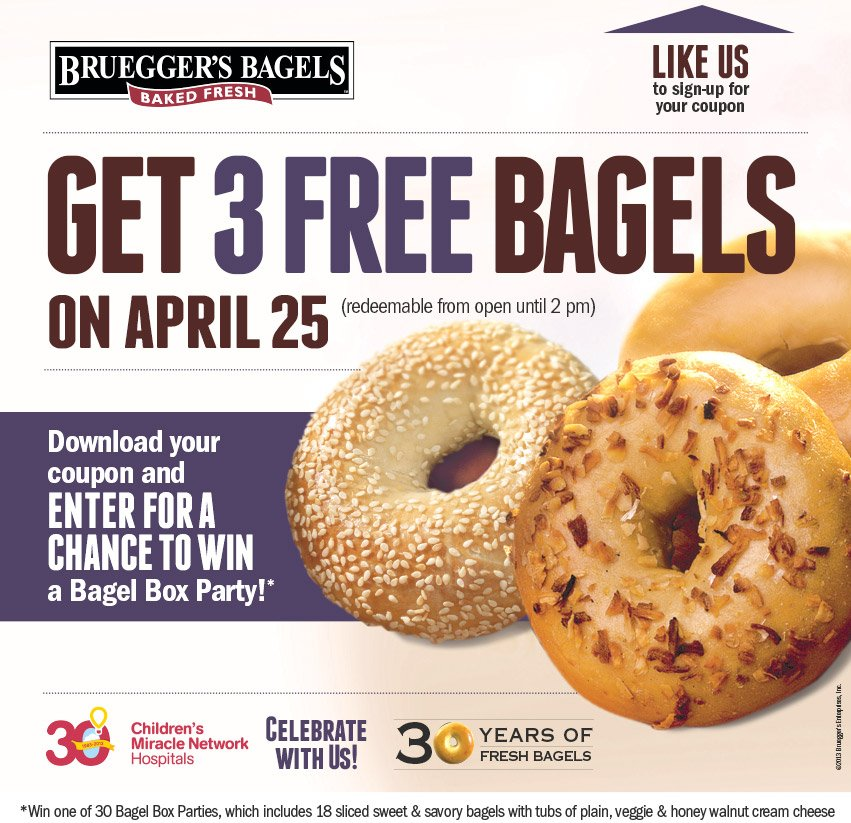 Dining Deals on 425 Olive Garden Fazolis Brueggers Bagels and