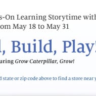 Barnes & Noble: FREE Hands-On LEGO Duplo Learning Event In-Store (From May 18th-31st)
