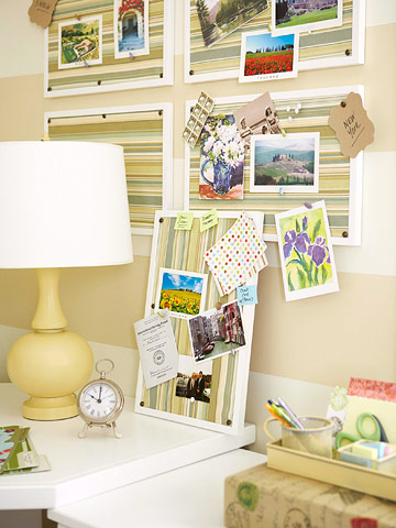 Craft closet unit for yourself with a wire shelf that hangs over