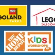 Home Depot Kids Workshop: FREE Kids Ticket to LegoLand, Sea Life, or Madame Tussauds on June 1st