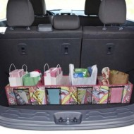 Designer 4-Compartment Trunk Organizer Only $14.99, Regularly $40 (Thru 5/7 Only) = Unique and Inexpensive Mother's Day Gift Idea!