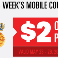 Save at the Movies: $2 Off Pizza at Regal Cinemas + $1 Off Candy with Drink Purchase at Cinemark
