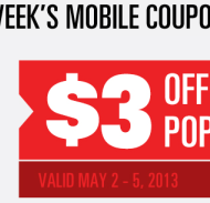 Save at the Movies: $3 Off Popcorn at Regal Cinemas + $2 Off Drink with Purchase at Cinemark
