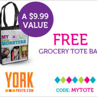 York Photo: FREE Personalized Tote or Beach Bag, Just Pay $3.99 Shipping!
