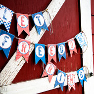 12 Fun, Creative and Easy DIY Crafts, Printables and Recipes To Celebrate the Fourth of July