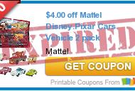 Walmart: Mattel Disney Pixar Cars Vehicle 2-Packs Just $2.94 With Coupon!