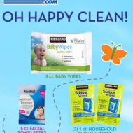 Costco Members Only: Request FREE SAMPLE of Baby Wipes, Facial Towelettes and Household Surface Wipes