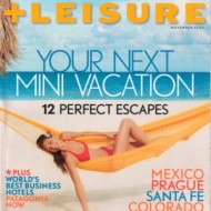 FREE One (1) Year Subscription to Travel + Leisure Magazine