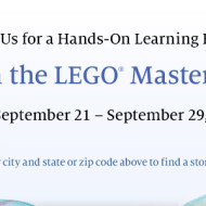 Barnes and Noble FREE Hands-On Learning Event: LEGO Master Builder Academy (For Kids Ages 8 and Up)