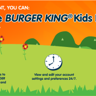 BK Crown: Sign Up To Score A FREE Burger King Kids Hamburger On Your Child's Birthday + More Special Member Offers!