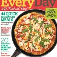 3 FREE Issues of Everyday with Rachael Ray Magazine