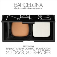 FREE Sample of NARS Radiant Cream Compact Foundation Make Up- Daily Thru 9/28 Starting @ 12 Noon, EST