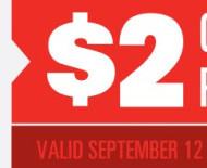 Save At The Movies: 2 Off Pizza at Regal Cinemas + $1 Off Candy with Select Drink Purchase at Cinemark