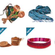 Giving With Purpose from the World Vision Catalog + A Handmade Animal Trio Ornament Set Giveaway!