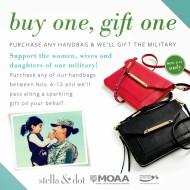 Stella & Dot Veterans Day Special: Buy Any Handbag, Gift One Bag To The Military (Thru 11/12/13)