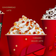 Starbucks: Buy 1 Holiday Drink, Get 1 FREE (Thru 11/17) + Earn Another FREE Beverage!