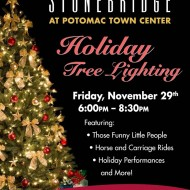 Stonebridge at Potomac Town Center (Woodbridge, VA): Holiday Tree Lighting on November 29th