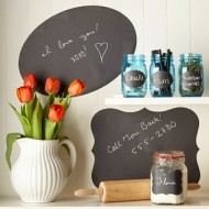 Kitchen Organizing with Chalk Labels Starting at Under $10= Great Valentine Gift Idea Too!