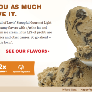 FREE Full Size Container of Lovin' Scoopful Ice Cream – TODAY Only!