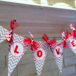 DIY Valentine's Love Banner + FREE Printable