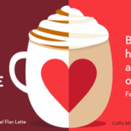 Starbucks: Buy ANY Handcrafted Latte, Get One FREE on Valentine's Day from 2-5PM (No Coupon Needed)